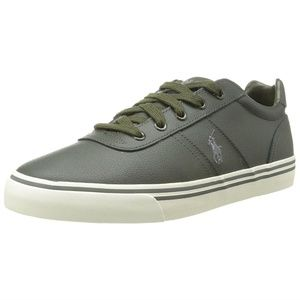 Mens Rubber Fashion Sneakers Shoes Olive Green